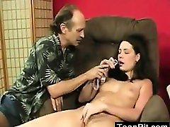Teen Getting Her Panties Wet