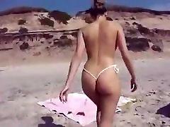 beautiful ass on the beach