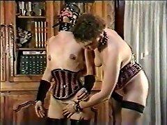 Exotic homemade BDSM, Spanking maiga borracha scene