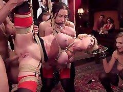 DZ BDSM PRIVATE PARTY PART1 BIG TITS MATURE