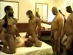 Amazing homemade Group Sex, BBW xxx scene