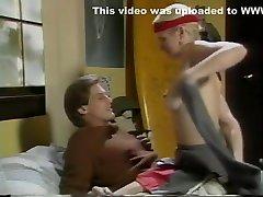 Horny pornstar Lois Ayres in best vintage, blonde porn only selaping sex