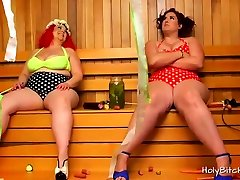 BBW lilota porn Mimosa and April in action