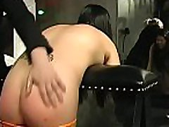 Stunning sweetheart in bdsm act