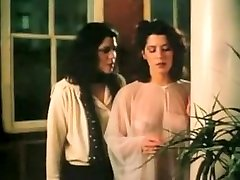 Fabulous amateur Retro, Brunette sex scene