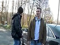 Guys play with each others dick in public gay Outdoor Anal Fun