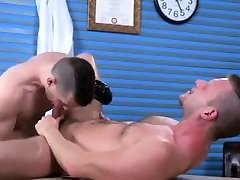 Nude gay teachers porn Brian Bonds and Axel Abysse stir