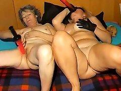 OmaPasS Horny Matures Lesbian Porn Footage