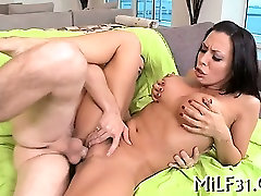 Hot and wild tits playing