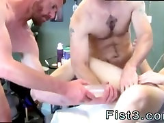 Guys fisting ass gay First Time Saline Injection for Caleb