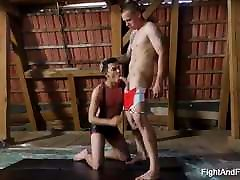 Hot Gay Studs Mickey Rush and Oscar Hart Fight To Fuck