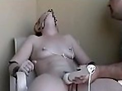 Mature slut gets titillated during the time that being strapped taut