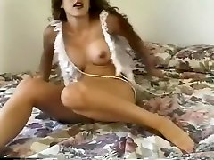 Vintage latur female of a curly haired slut teasing with her bushy cunt
