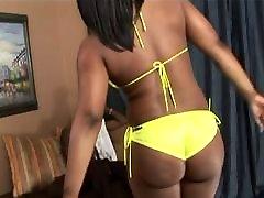 Hot Ebony banged