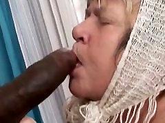 Big black cock creampies granny with big tits