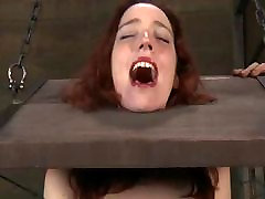 BDSM Slave Chained and Breast Tormented