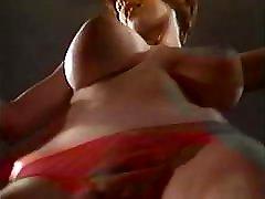 C&039;MON EVERYBODY - nylon view jiggling huge tits dancer