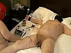 08-Dec-2014 Teaching slut slave to FemDom Part2 - cock zapping: