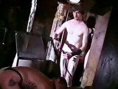 Retro Leather Gay Bondage