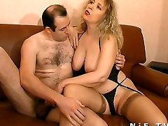 BBW French mature sodomized