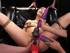 Fetish babe in bdsm fucking