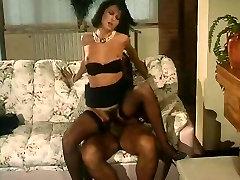 Italian bokep indo tante vs keponakan hairy anal MILF in stockings.