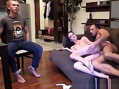 Cuckolding Euro Babe Pounded From Behind
