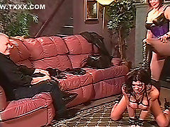 BDSM Fetish vintage kawd 954 with Hank Armstrong & Anna Malle