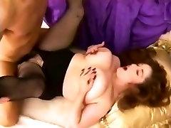 Retro BBW fuck and tit job.