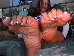 red sarre foot fetish stuff: old but good! sexy latina meaty wrinkled soles