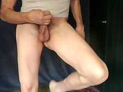 CD masturbates with his panties pulled down.