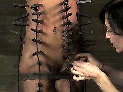 BDSM sub Nikki Darling in plenty of pain