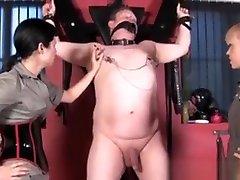 Femdoms Punishing Subs Nipples And Enjoy Cbt