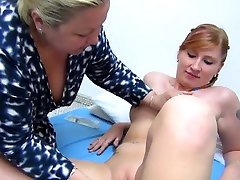Old Mature teaches younger Mature how to fuck