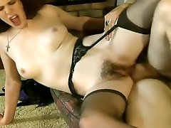 virgin assfucked British Amateur with Hairy Pussy gets Fucked at Home