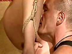 Rope and sadism.BDSM bondage sex movie.