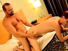 Hot gay sex Twink rent man Preston gets an ample poke when a