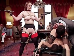 Anal and dp threesome at alphabet brandi party
