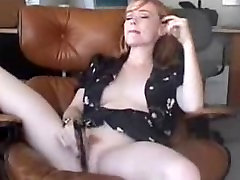 fine little redhead masturbation