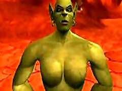 HentaiAnime World of Warcraft redhead pays for college The Orcs