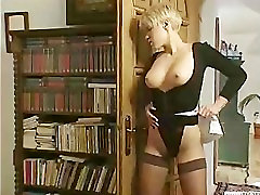 massive cock in anal couple fuck while the maid watches