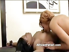 Tied up black lesbian is to orgasm with a vibrator