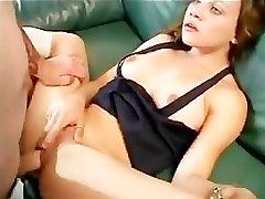 Schoolgirl Gets Ass Fuck