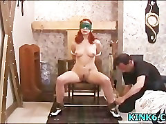 Torturing new housekeeper