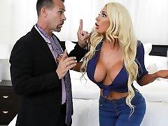 Nicolette Shea & Tyler Nixon in The Dick Pic Trick - BRAZZERS