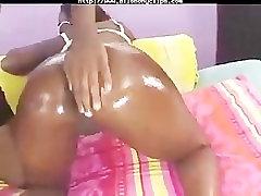The Thick & Sexy Aryana Star black ebony cumshots ebony swallow int