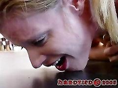 Exteme rubber Bondage Bitch