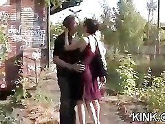 Kinky fantasy of hooker bound and fucked