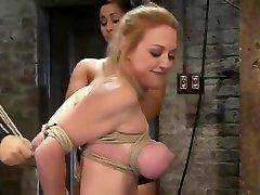 BDSM compilacion de paja video featuring Huge Breasts and Isis Love