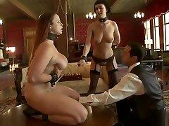 BDSM jspani sek video featuring Bella Rossi and Cherry Torn